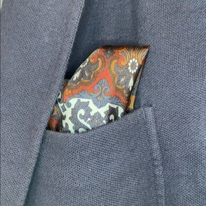 Other - Also patterned pocket square.